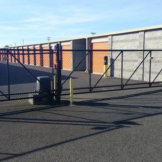 Gallery rear gate