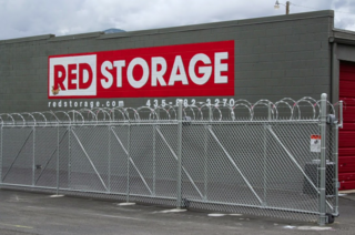 Gallery red storage