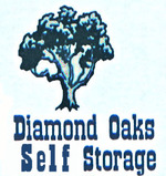 Thumb diamond oaks self storage logo
