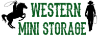 Logo western mini storage rifle silt