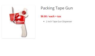 Gallery tape gun 2