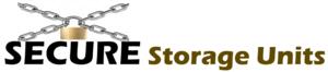 Logo secure storage units logo