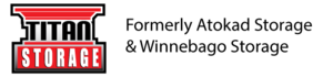 Logo titan storage logo wformerly