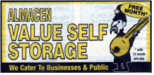 Logo value self storage